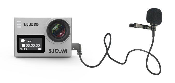 SJCAM SJ6 Legend zewnętrzny mikrofon vat19.pl