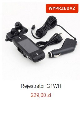 Rejestrator G1WH