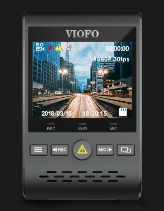 VIOFO A129 Duo LCD 2 cale VAT19.pl